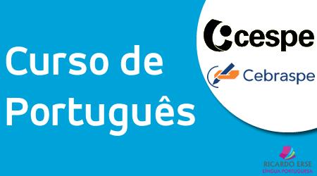 Curso de Português - CESPE/CEBRASPE - 2021 - COMBO 1