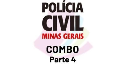 Polícia Civil de MG - COMBO - Parte 4